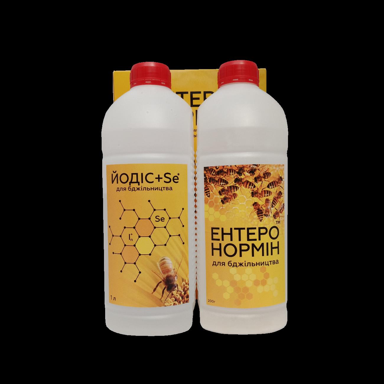 ЭНТЕРОНОРМИН™ с Йодис+Se для пчеловодства (200г+1000мл)
